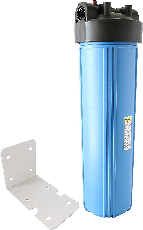 pureteck 20 pulgadas Big Blue toda la casa filtro de vivienda azul ...