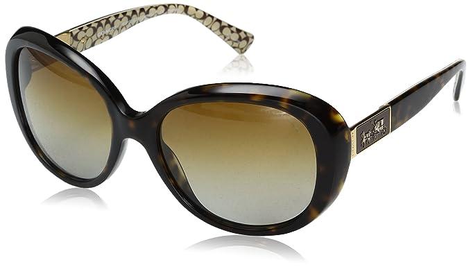ad18f3f579 Coach L094 Carter Sunglasses HC8120 5262T5 Dark Tort Dark Tort Sand Sig C  Brown Gradient