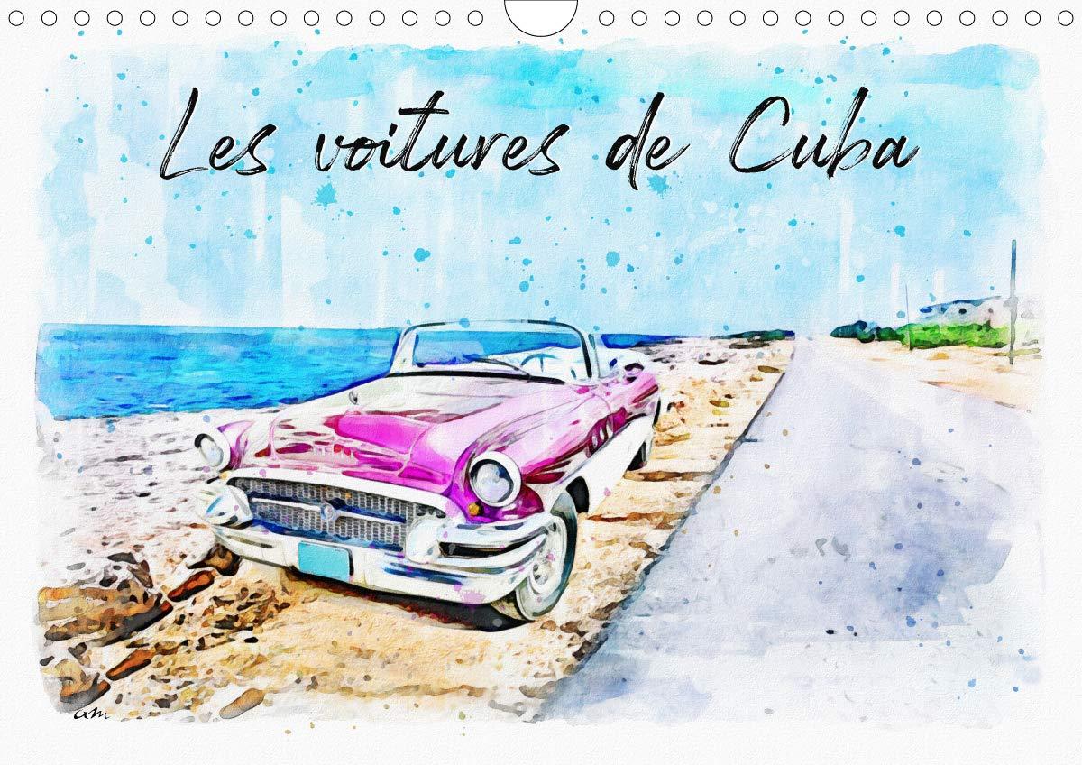 Les voitures de Cuba (Calendrier mural 2021 DIN A4 horizontal