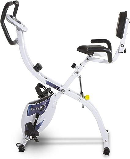 Tecnovita – Bicicleta estática X-Tri 2 YF910 – Bicicleta Plegable ...