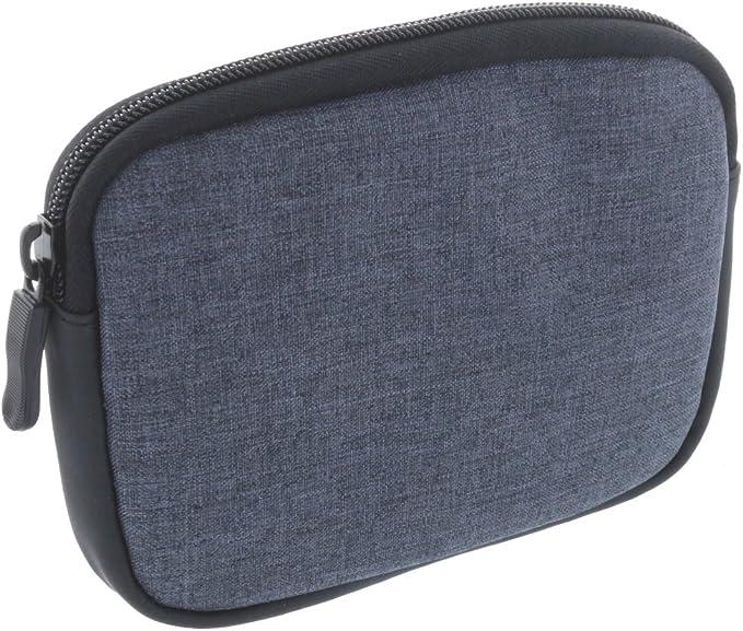 Universal Soft Case Navi Tasche für 6 Zoll (15,2cm) Navigationgeräte passend für BeckerBlaupunktGarminTomtom Start Modelle grau