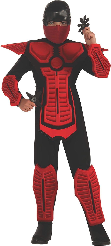 Childs Red Ninja Costume, Medium