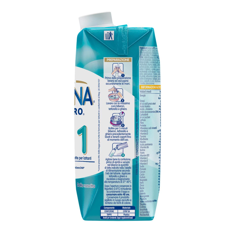12 St/ück /à 500 ml Nestl/é Nidina Optipro 1 HM-O aus der Geburt Milch f/ür fl/üssige Kleinkinder