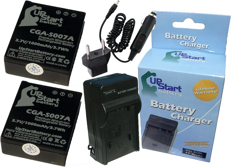 BATERIA para Panasonic Lumix dmc-tz3 serie 3,7v 1000mah//3 7wh Li-ion negro