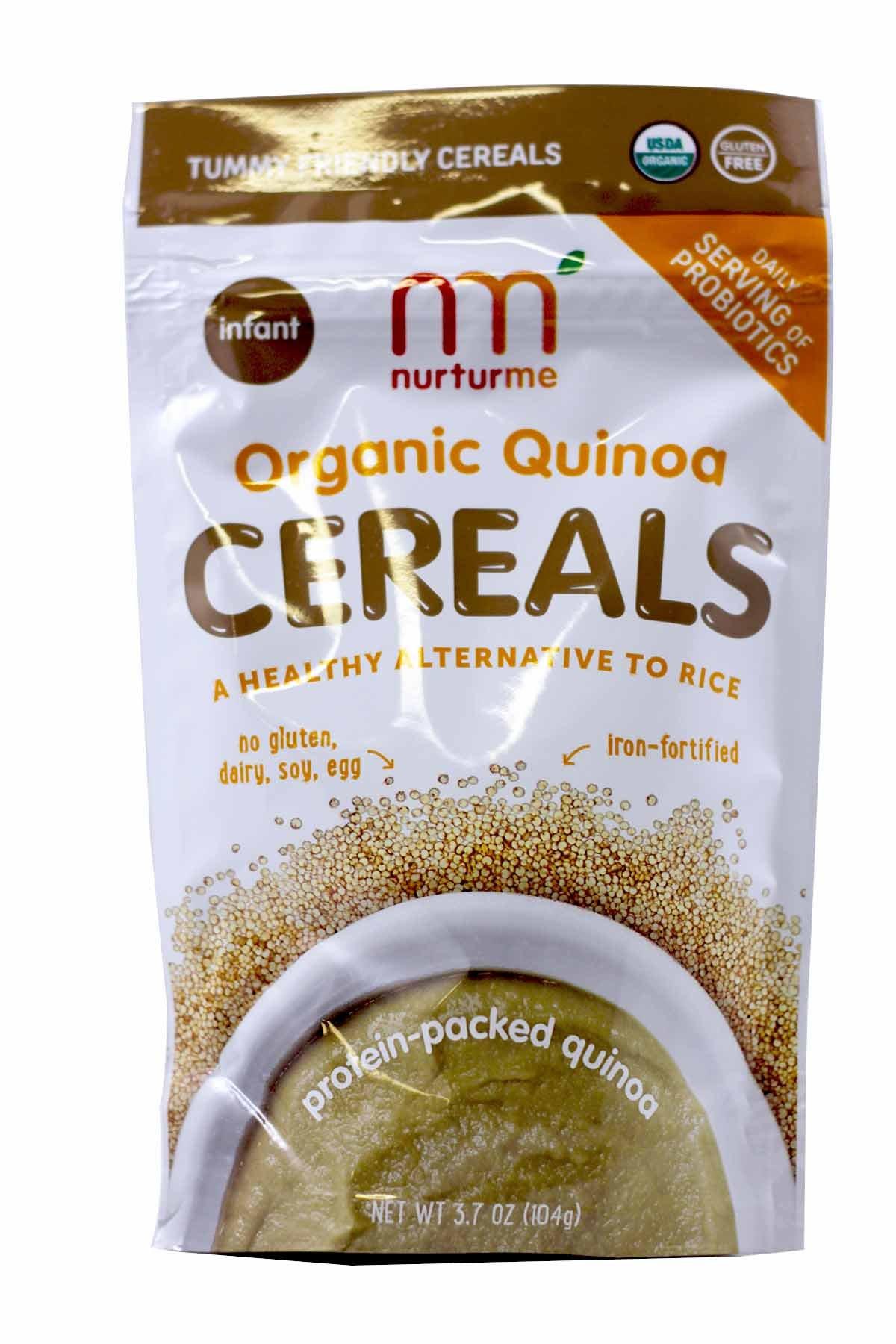 NurturMe Organic Baby Cereal - Quinoa - 3.7 oz - 6 pk