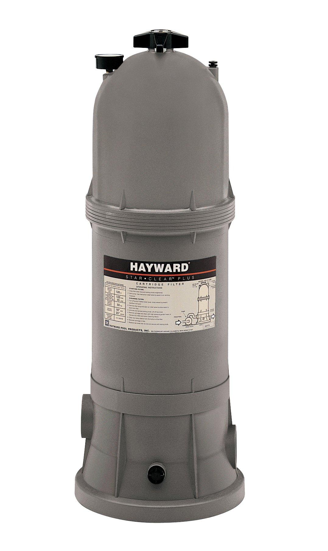 Hayward C751 Star-Clear Plus 75-Square-Foot 1-1/2-Inch FIP Pipe Cartridge Pool Filter