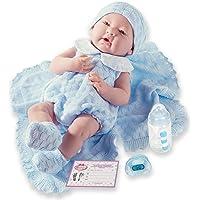 JC TOYS-La Newborn Muñeco bebé, Color Azul (18054)