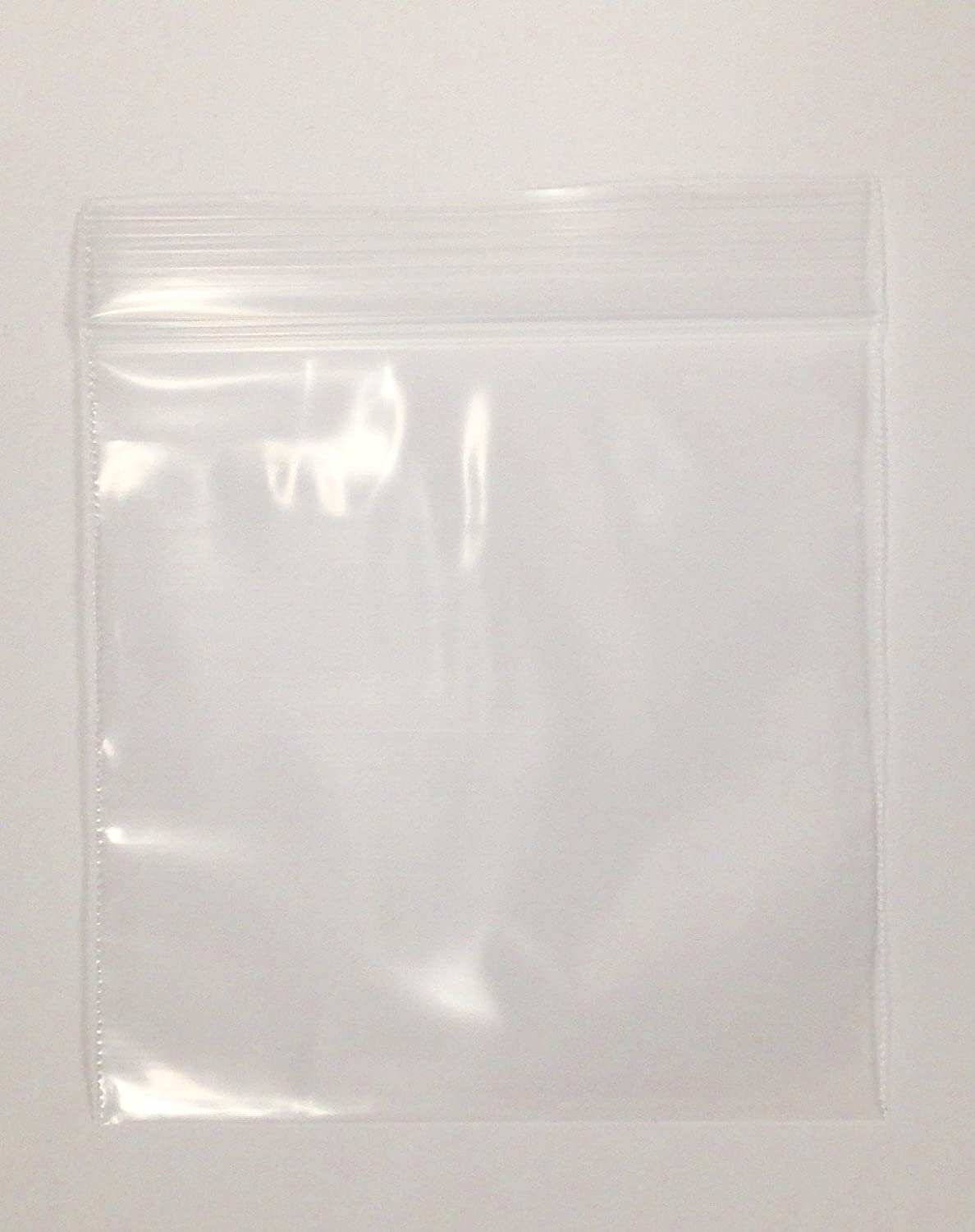 "3"" x 3"", 2Mil Clear Reclosable Zip Lock Bags, case of 1,000"