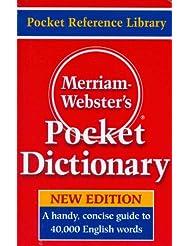 Merriam-Webster\'s Pocket Dictionary