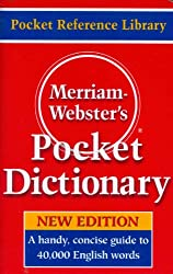 Image of the product Merriam Websters Pocket that is listed on the catalogue brand of Nekoosa.