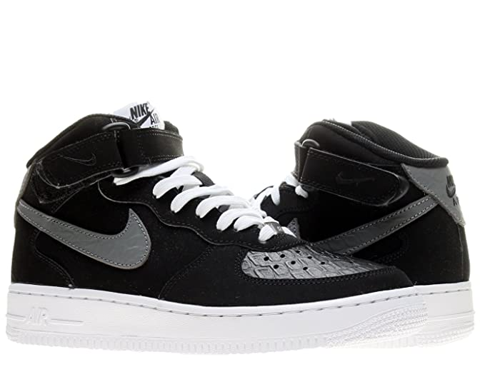 new style cf42b 81f72 Amazon.com: Nike Air Force 1 Mid (GS) Boys Basketball Shoes ...
