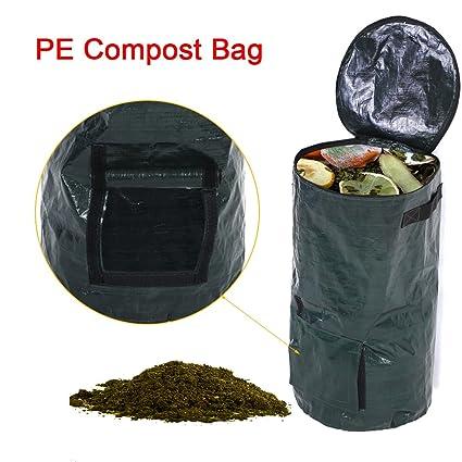 Bolsa de plantador de jardín, fermentación de residuos orgánicos ...