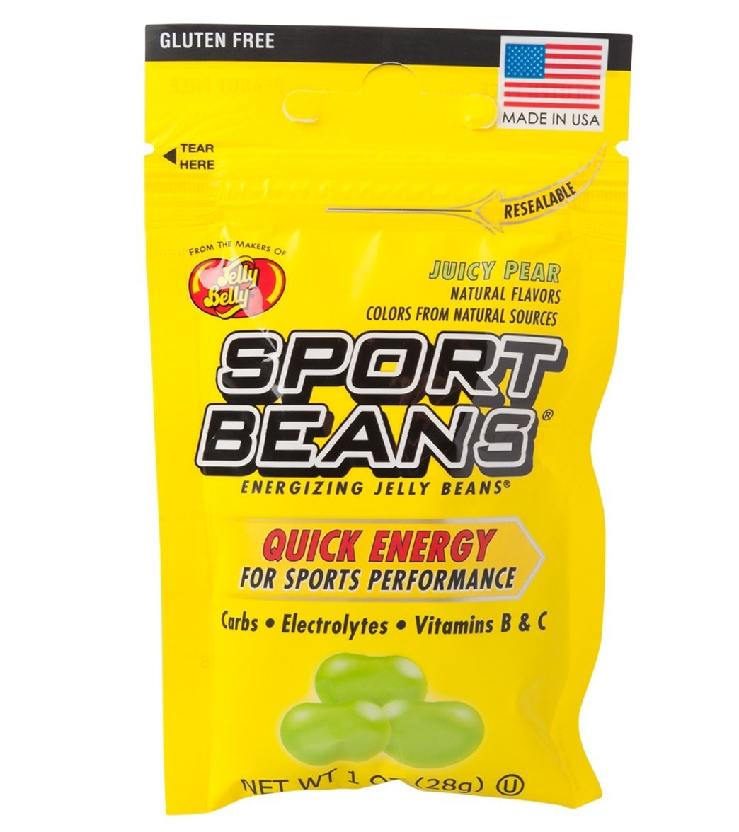 Jelly Belly Sport Beans 1oz Juicy Pear 24 Packs