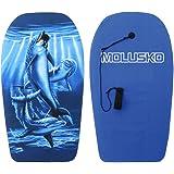 MOLUSKO(モルスコ) ボディ ボード 33 MS-40 【デザイン2パターン指定不可】 ドルフィン or ブルー