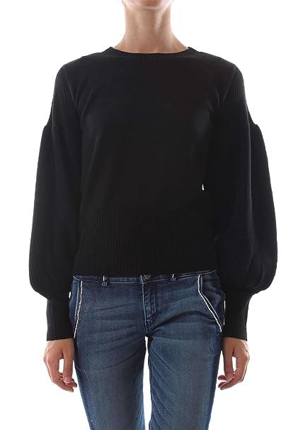 c862ea2f8fe3 Guess by Marciano 84G503 5454Z GIG5 Pull Femme Nero L  Amazon.fr  Vêtements  et accessoires