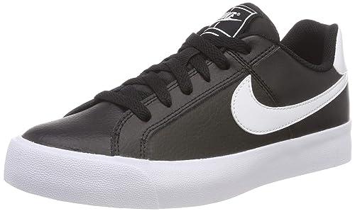 outlet store 4f006 db285 Nike Women s Court Royale Ac Tennis Shoes, Black (Black White 001),