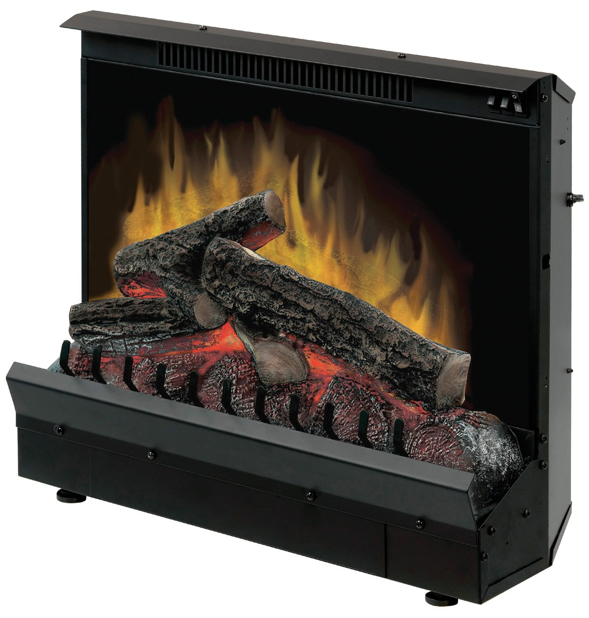 Amazon.com: DIMPLEX NORTH AMERICA Black Finish Electric Fireplace Heater  Insert: Home & Kitchen