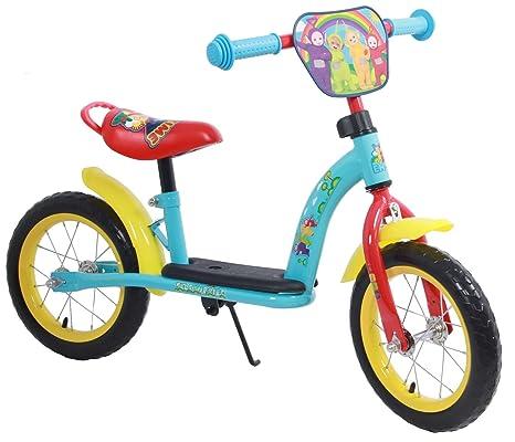 Bicicleta del Niño sin Pedales Teletubbies de Metal 12 Pulgadas ...