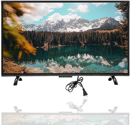 Televisor Curvo Inteligente de 32 Pulgadas, 1920x1200 300cd / m2 3000R Curvatura VGA/AV/USB/HDMI/RF/WiFi HDR Pantalla de televisión doméstica con Voz de Inteligencia Artificial para PC(UE): Amazon.es: Electrónica