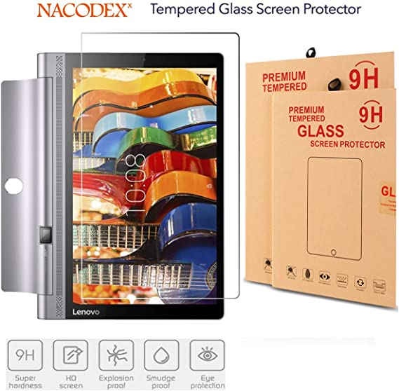 Nacodex HD Tempered Glass Screen Protector For Lenovo Yoga Tab 3 Pro 10.1 inch