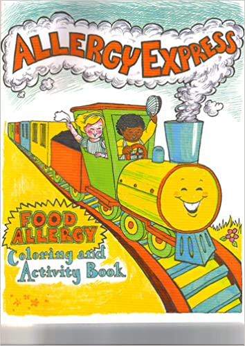 Allergy Express - Food Allergy Coloring and Activity Book: Jessica ...