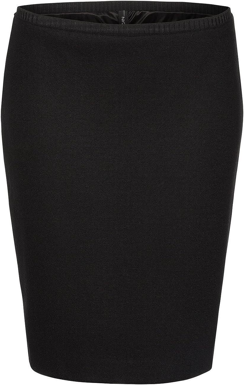 Marc Cain Essentials Damen Rock +E7105J05 Schwarz (Black 900)