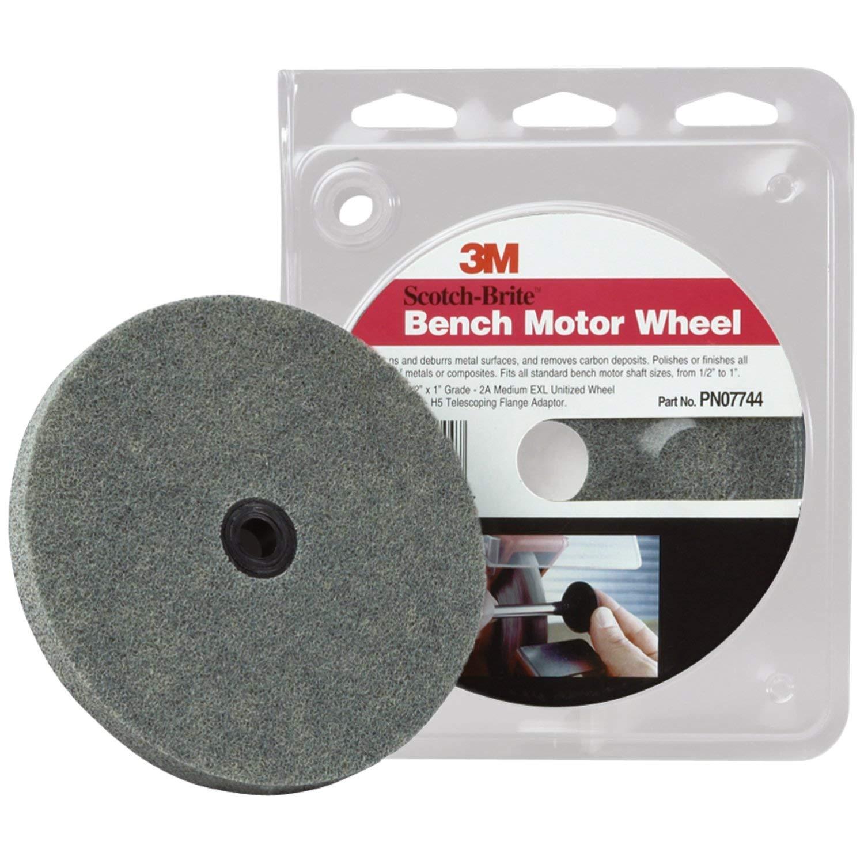 Scotch-Brite TM Pack of 5 Unitized Wheel Pack 990S, 3M
