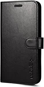 Spigen Wallet S LG G5 Case with Foldable Cover and Kickstand Feature for LG G5 2016 - Black