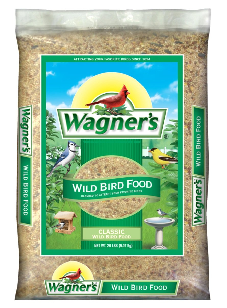 Wagner's 52002 Classic Wild Bird Food, 10-Pound Bag Wagner' s