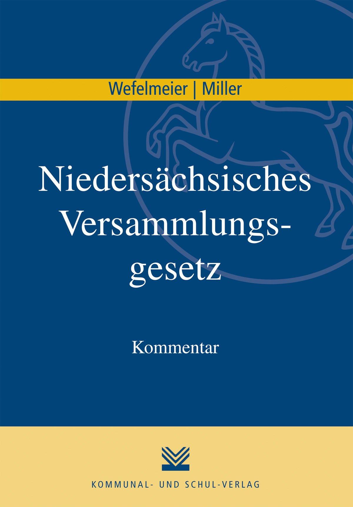 Niedersächsisches Versammlungsgesetz Kommentar Amazon