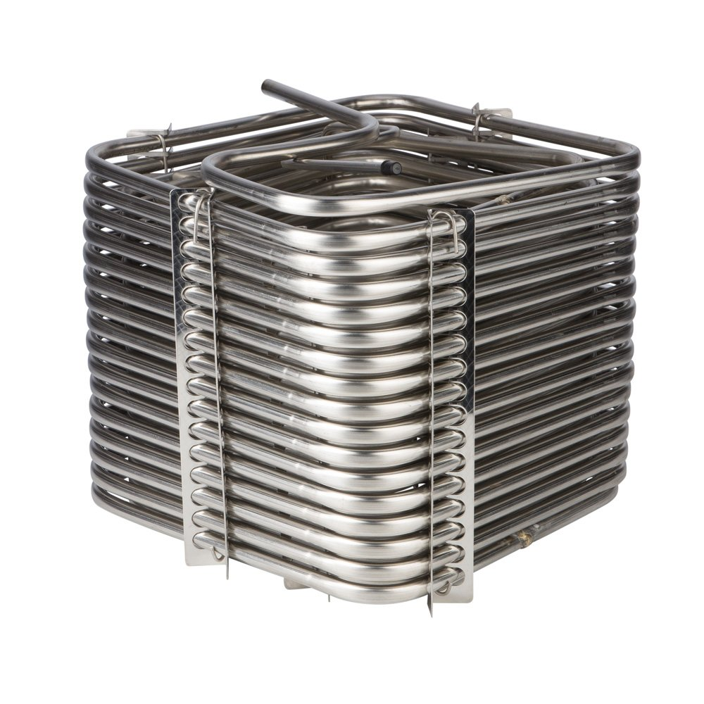 Draft Beer Jockey Box Cooler Coil - 120' - Square by KegWorks
