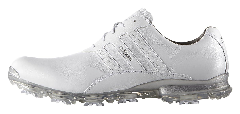 Adidas Adipure Classic Golf Schuhe, Herren 46 Weiß/silberfarben: Amazon.de:  Sport & Freizeit