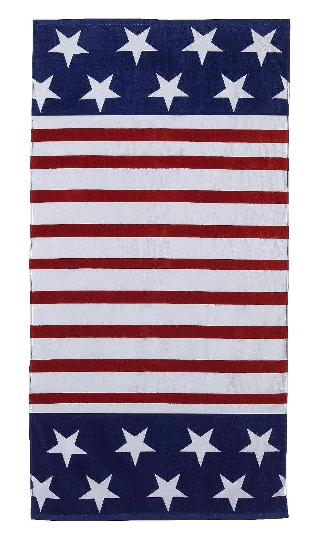 Summer Livin Ikat  Design Beach Towel 094