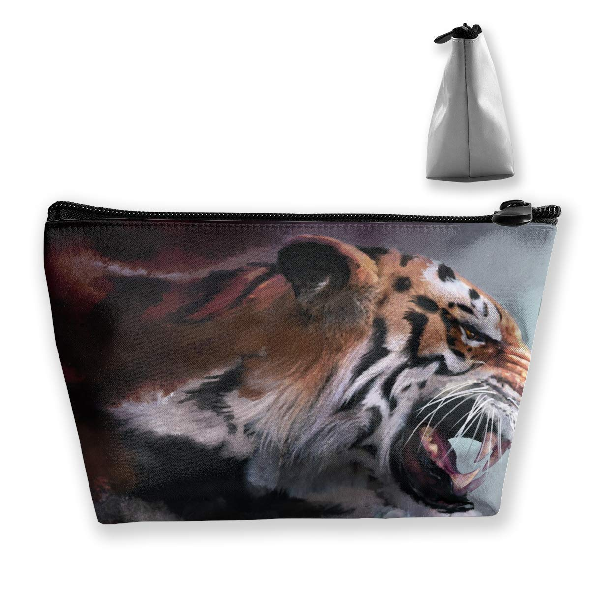Estuche de lápices de Viaje de la Pintura del Tigre de Roaring Estuche de lápices Bolso Multifuncional