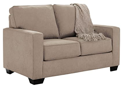 amazon com ashley furniture signature design zeb contemporary rh amazon com lottie durablend twin sofa sleeper - ashley furniture