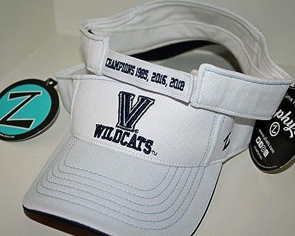 25a6808600c Amazon.com   ZHATS Villanova University Wildcats VU White Jersey Mesh 2018