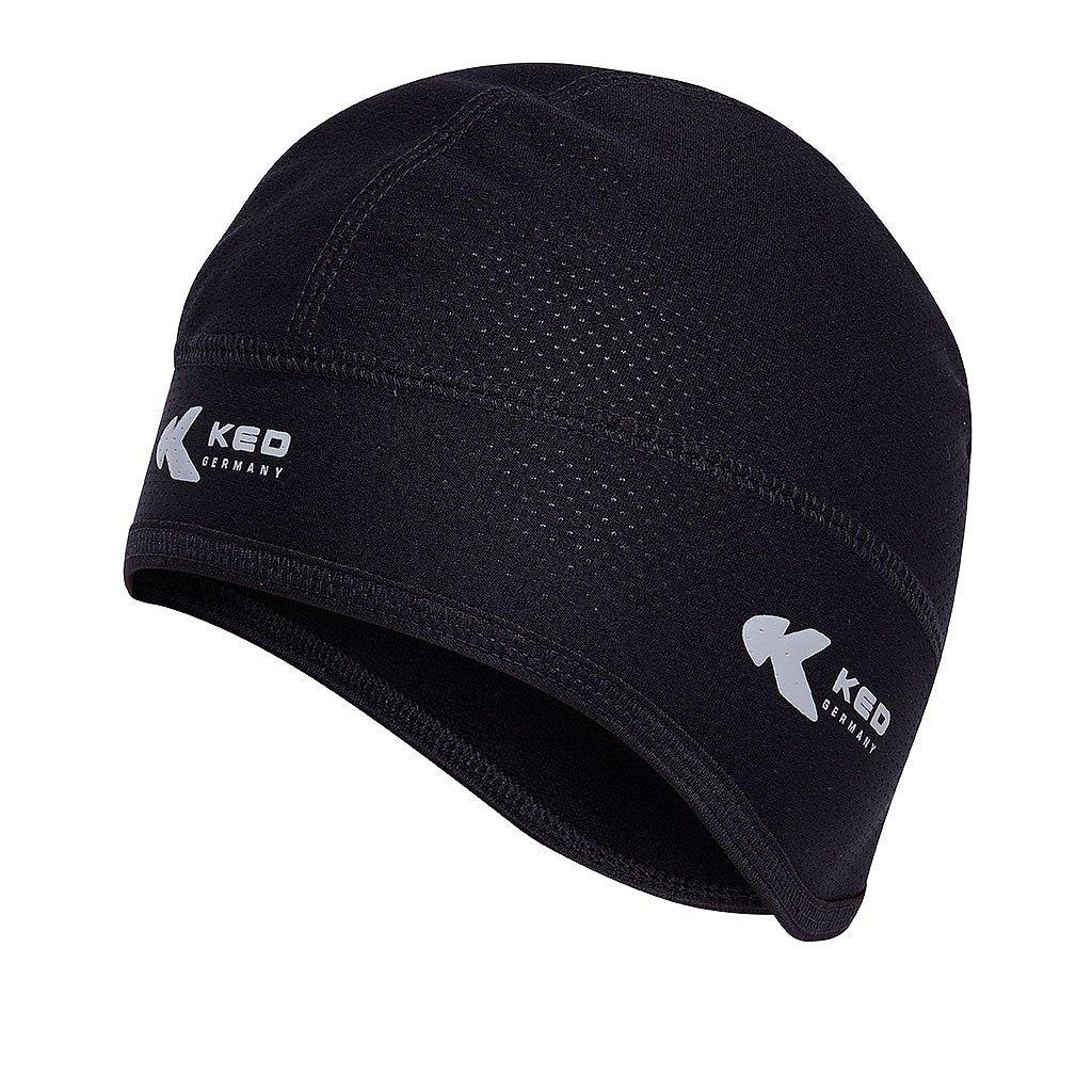 KED Helmuntermütze Winter Cap Ski, Fahrrad, Reiten, Motorrad-Unterziehmütze Untermütze KED neues Modell Farbe: schwarz, Gr. S/M = ca. 48-52 cm