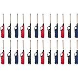 "24stk. Stabfeuerzeug Feuerzeug ""Long Range"" Gas XXL 27 cm lang nachfüllbar [Versand durch konsum-shop]"