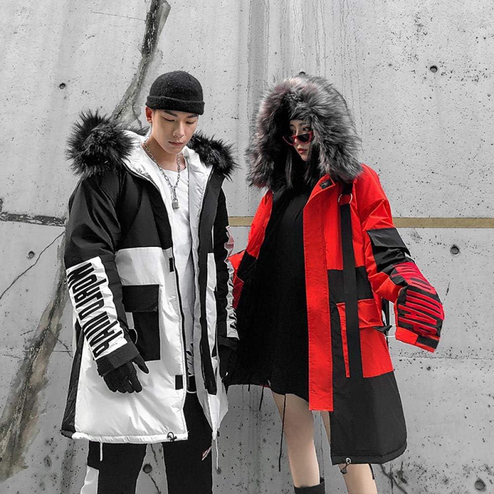 llzshoutao Invernale Cappotto da Uomo Lungo Elegante Moda Cappotto Invernale Caldo Beauty Top Giubbotto Autunno Trench Tessuto di Alta qualità Ideale Invernali@ ROSSO