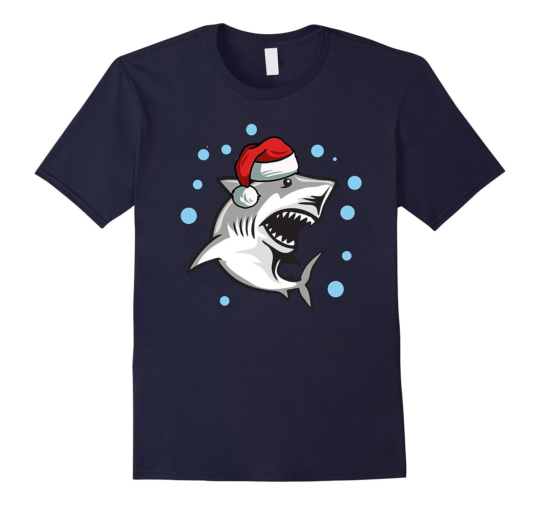 Christmas Kids Shirts - Shark Christmas Shirt - Santa Shark-ANZ ...