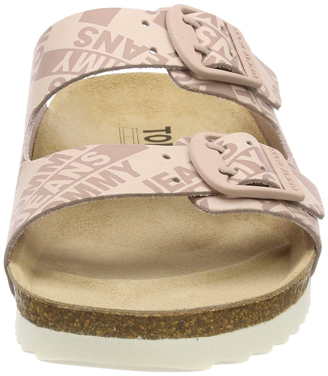 Tommy Jeans Allover Print Flat Sandal Tongs Femme