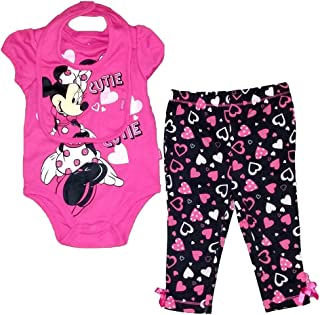 Disney Minnie Mouse Infant Cutie Legging & Bib Set