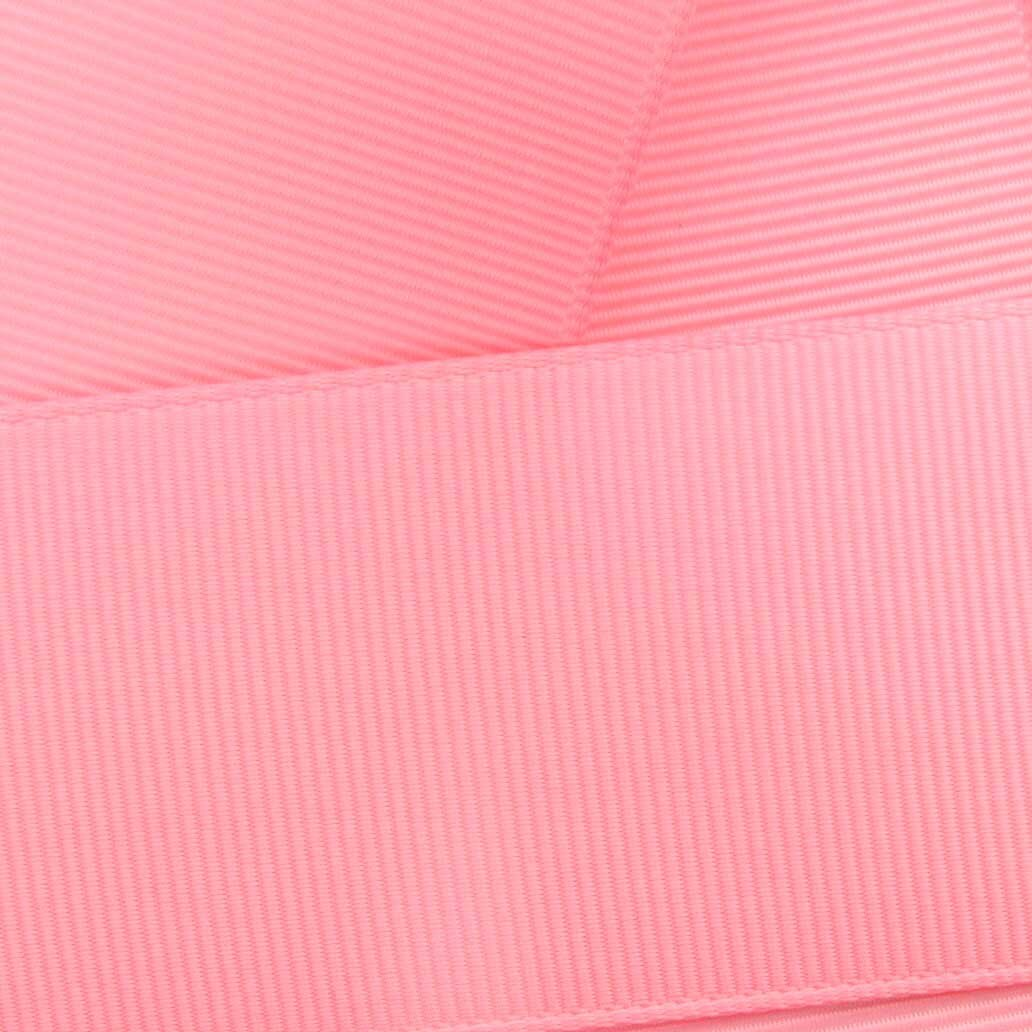 3'' Pink Grosgrain Ribbon Solid 100 yard reel (75mm) HBC Brand by HairBow Center LLC