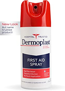 Dermoplast Antiseptic & Anesthetic First Aid Spray 2.75 Ounce