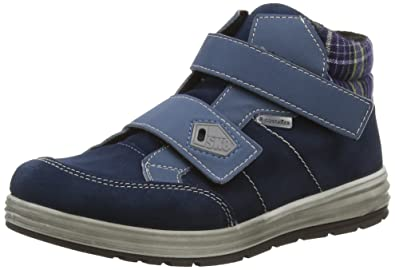 Ricosta Bajo, Sneakers Hautes Garçon, Bleu (Pavone), 36 EU