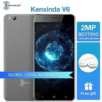 Günstiges Smartphone Ken Xin Da V6 Handys Ohne Amazonde Elektronik