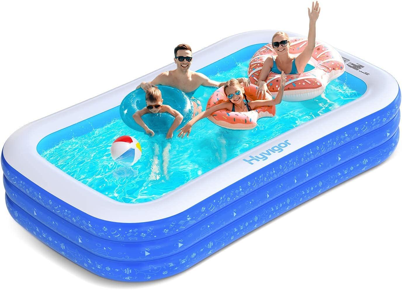 Hyvigor Family Inflatable Swimming Pool - 120