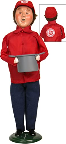 Byers Choice Salvation Army Man with Soup Pot Figurine