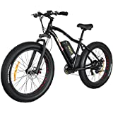 Addmotor MOTAN Electric Mountain Bike Power Plus Fat Tire 48V 500W Bicycles Shimano 7 Speeds Gears M-550 E-bike With 10.4AH Lithium-Ion Battery