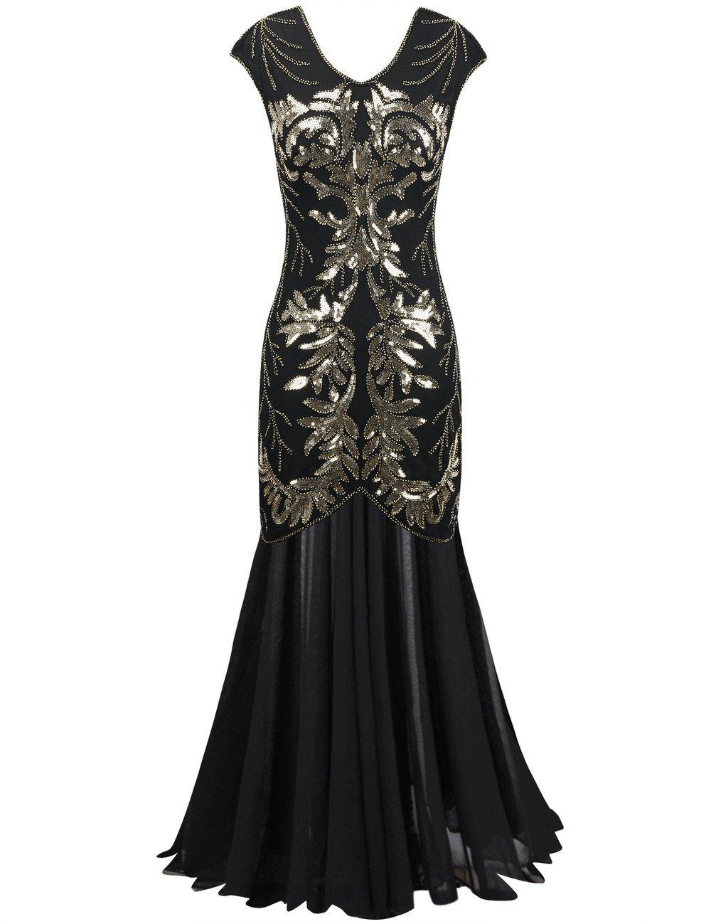 Women\'s Long Formal Sequin Dress: Amazon.com